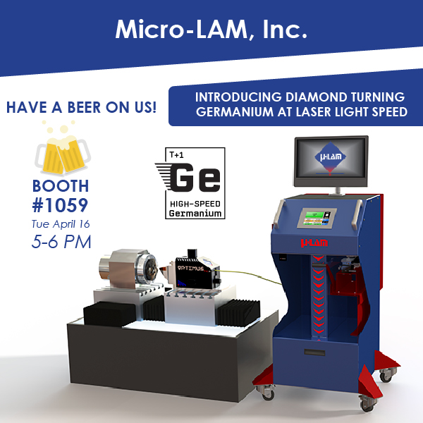 Visit Micro-LAM at SPIE in Baltimore